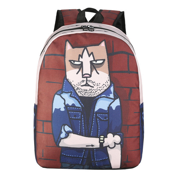 Рюкзак Кот на стиле