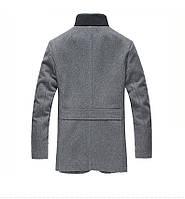 Мужское шерстяное весеннее пальто. Модель 6354, фото 2