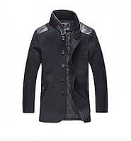 Мужское шерстяное весеннее пальто. Модель 6354, фото 5