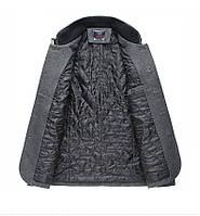 Мужское шерстяное весеннее пальто. Модель 6354, фото 3