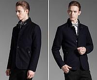 Мужское шерстяное весеннее пальто. Модель 6354, фото 6
