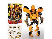 Трансформер Бамблби 46см Transformers Боевые роботы: свет, звук