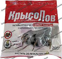 Крысолов тесто 200гр. с мумификатором