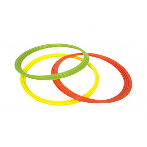 Кольца для координации Select Coordination Rings (желт/зел/оранж) д-60см., 12 шт