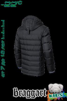 Зимняя куртка на мальчика с капюшоном Braggart Kids (р. 34-40) арт. 6528, фото 2