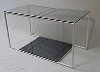 Журнальный стол Куб White 900/450/500