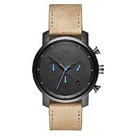 Часы мужские MVMT 40MM CHRONO GUNMETAL/SANDSTONE LEATHER