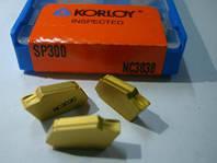 Пластина KORLOY SP-300 NC3030 на механический отрезной резец