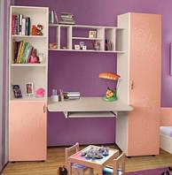 Мебель для детской Джерри без кровати МДФ  (Пехотин) 1900х400х2030мм