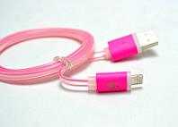 USB кабель iPhone 5/6 силикон
