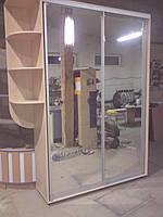 Шкаф-купе на 2 двери