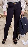 Полушерстяные школьные брюки с подворотом ИЛАНА