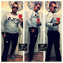 Мужской спортивный костюм с аппликацией fila
