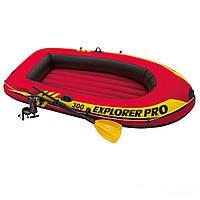 Надувная лодка Intex 58358 Explorer Pro 300 Set гребная лодка