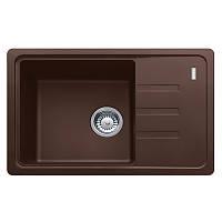 Мойка с сифоном гранит BSG 611-62 шоколад оборотная Franke (114.0375.048)