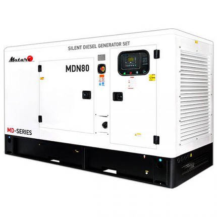 Генератор дизельний Matari MDN80 (88 кВт), фото 2