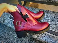 Стильные женские ботинки Diezzzl кожа