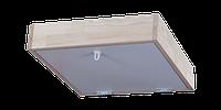 Крышка белая для чердачной лестницы или люка без короба OMAN толщина 26 мм размер 80х70 мм