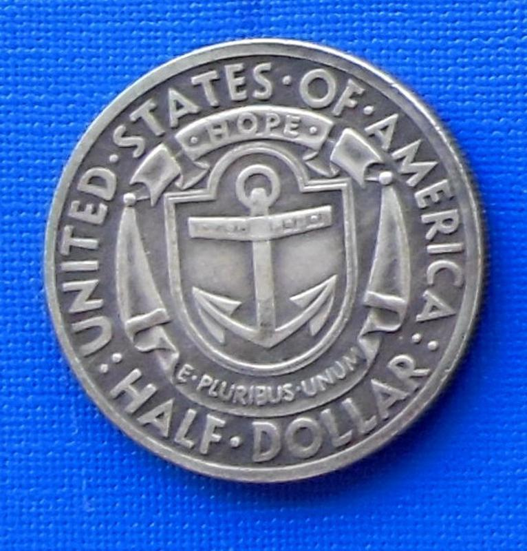США пол доллара 1936 год Rhode Island и506