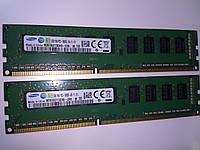 Память DDR3 2GB 1333MHz Samsung 1Rx8 PC3-10600E-09-11-D1 M391B5773DH0-CH9