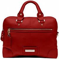 Эффектная женская кожаная сумка Piquadro SHIMMER/B.Red, CA1906S31_R3 красный