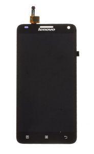 Дисплей с тачскрином Lenovo S580 черный (HQ)