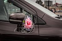 Украшение на зеркала автомобиля