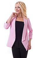 Нарядный женский пиджак с рукавом три четверти