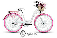Женский городской велосипед GOETZE STYLE LTD 28 + корзина