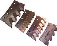 Сегмент к пиле дисковой сегментной для металла д.  710 мм с 4 зуб. ГОСТ 4047-82