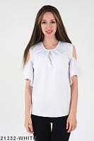 Жіноча молодіжна біла блузка Izabella