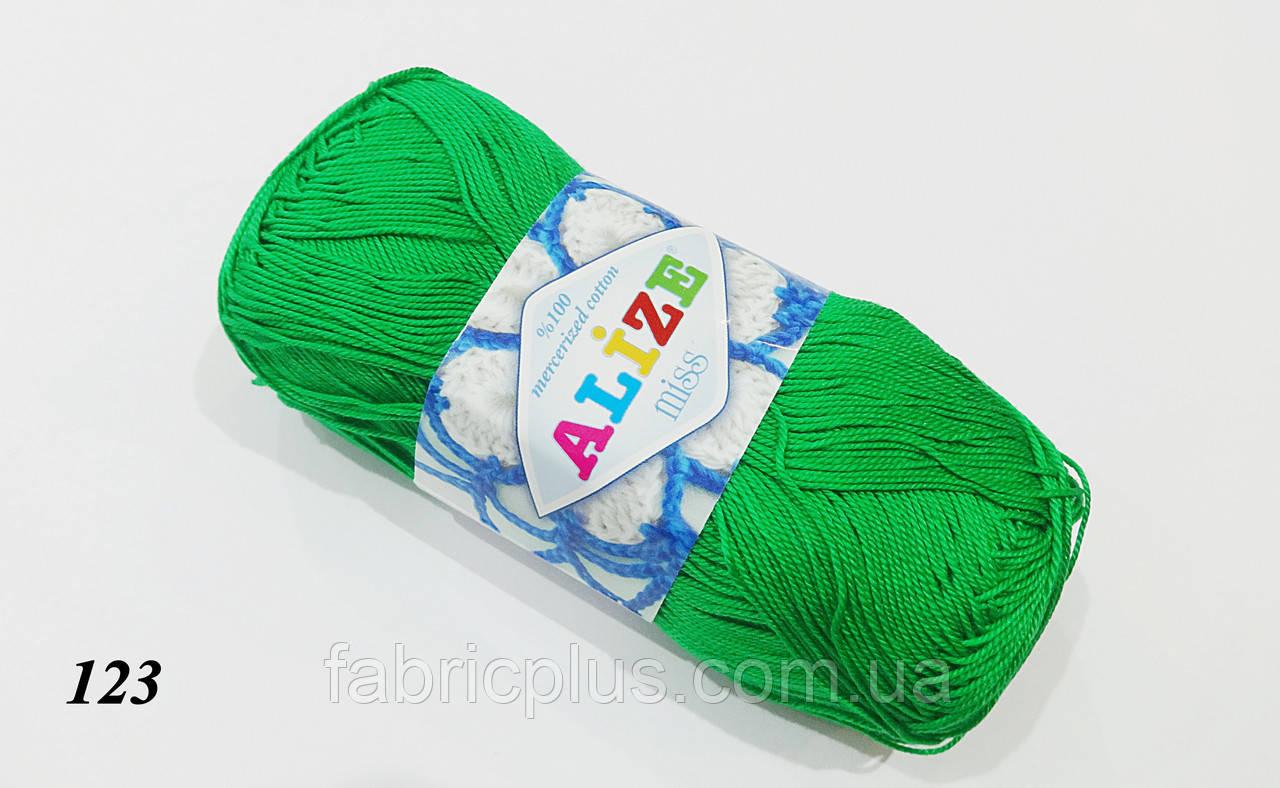 "Пряжа ""Miss Alize"" 100% mercerized cotton 50/280"