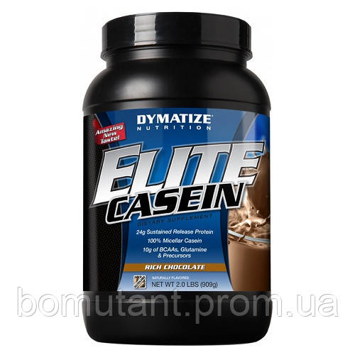 Elite Casein 909 гр богатый шоколад Dymatize