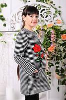 Кашемірове Пальто на дівчинку Діана весна-осінь 128см до 146см, фото 1