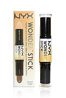 Двусторонний консилер стик NYX Wonder Stick