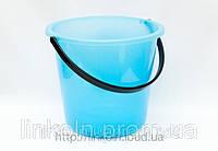 Ведро пластмассовое  пищевое 11 л цветное  ЭД       295*215*255