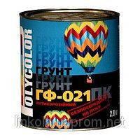 Грунтовка Polycolor ГФ-021 0,9 кг белая BELLINI
