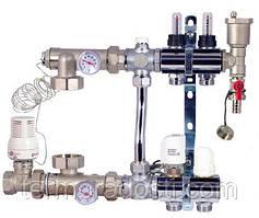 Коллектор в сборе для теплого пола FADO SEN02 (2 отвода)