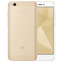 Смартфон ORIGINAL Xiaomi Redmi 4X gold (8X1,4Ghz; 3GB/32GB+slot CD; 4100 mAh)
