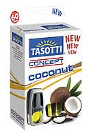 Автомобильный ароматизатор на дефлектор Tasotti Concept Coconut 8 ml