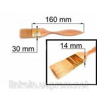 Кисть флейцевая 30*14 мм