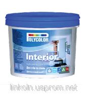 Краска водно-дисперсионная интеръерная латексная POLYCOLOR Interior 4,2 кг