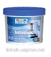 Краска водно-дисперсионная интеръерная латексная POLYCOLOR Interior 1,4 кг