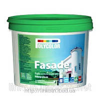 Краска водно-дисперсионная фасадная латексная POLYCOLOR Fasade 1,4 кг