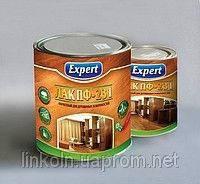 Лак Expert ПФ-231 мебельный и для пола 0,8 кг глянцевый