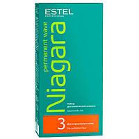 Estel Niagara №3 Набор для химической завивки окрашенных волос, 2х100 мл