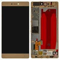Дисплей для мобильного телефона Huawei P8 (GRA L09), золотистый, с сен