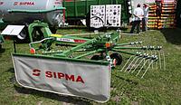 Грабли валкообразователи SIPMA ZK 450 WIR (карусельные; Польша)
