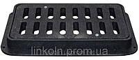 Решетка дорожняя (Дождеприемник) 810*400*80 мм с обечайкой, нагрузка -11т  + 2 замка