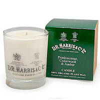 D.R. Harris Candle, Frankincense, Cedarwood & Amber Свеча